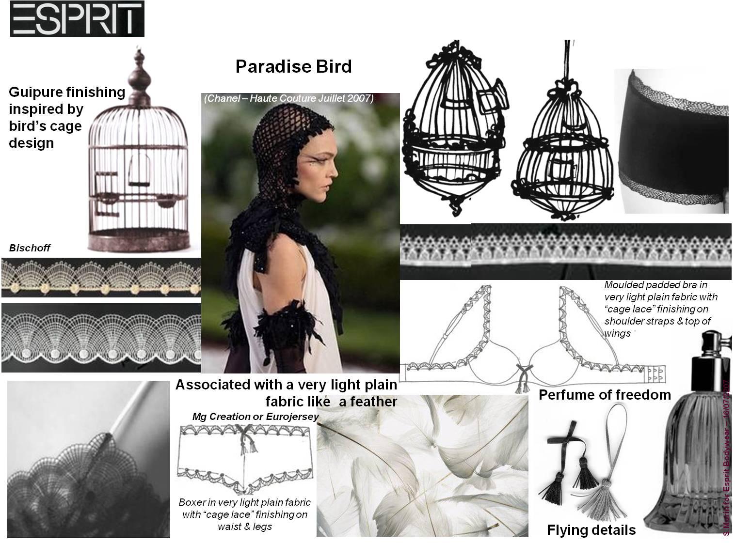 Sophie Morin pour Esprit Bodywear