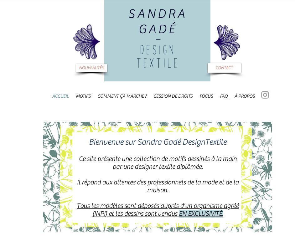 Sandra Gadé - Design Textile