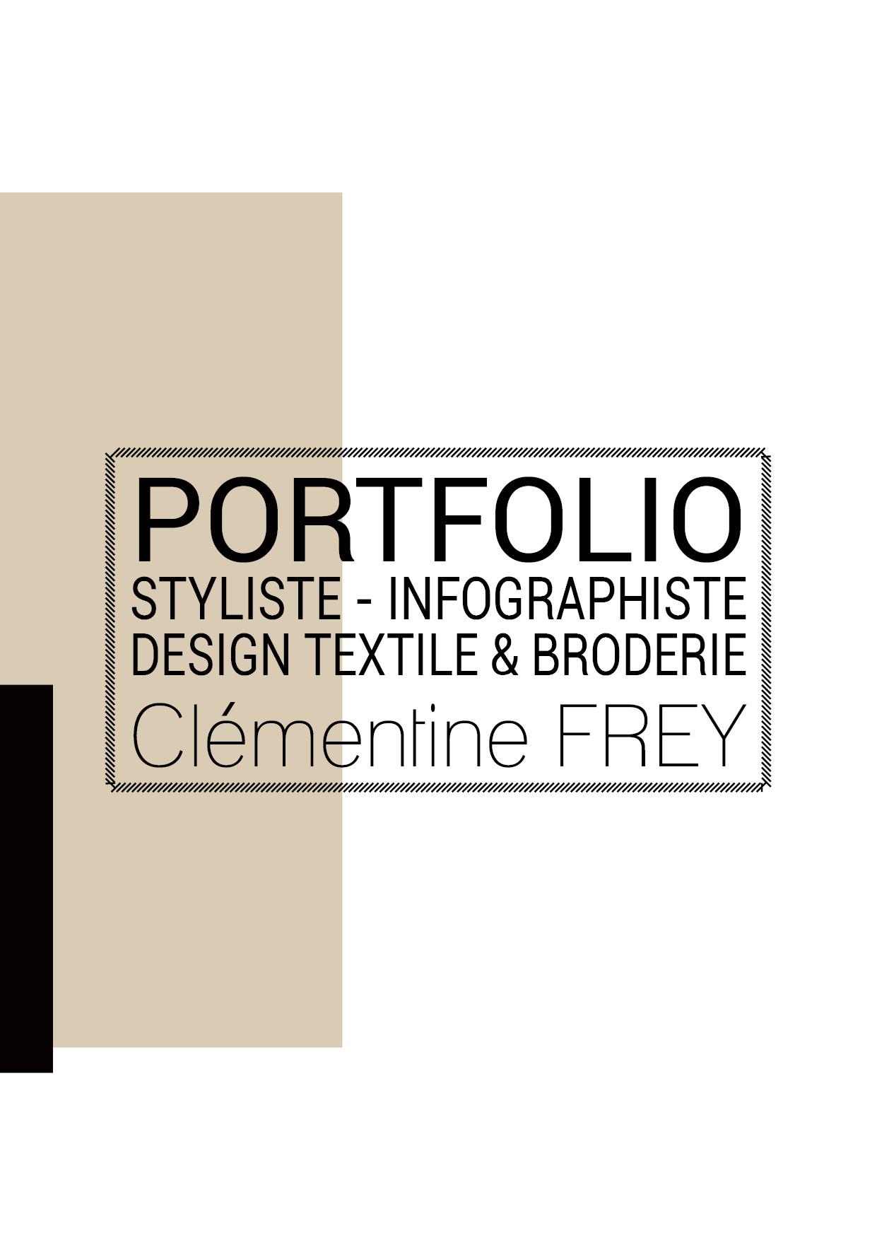 Portfolio Clémentine FREY