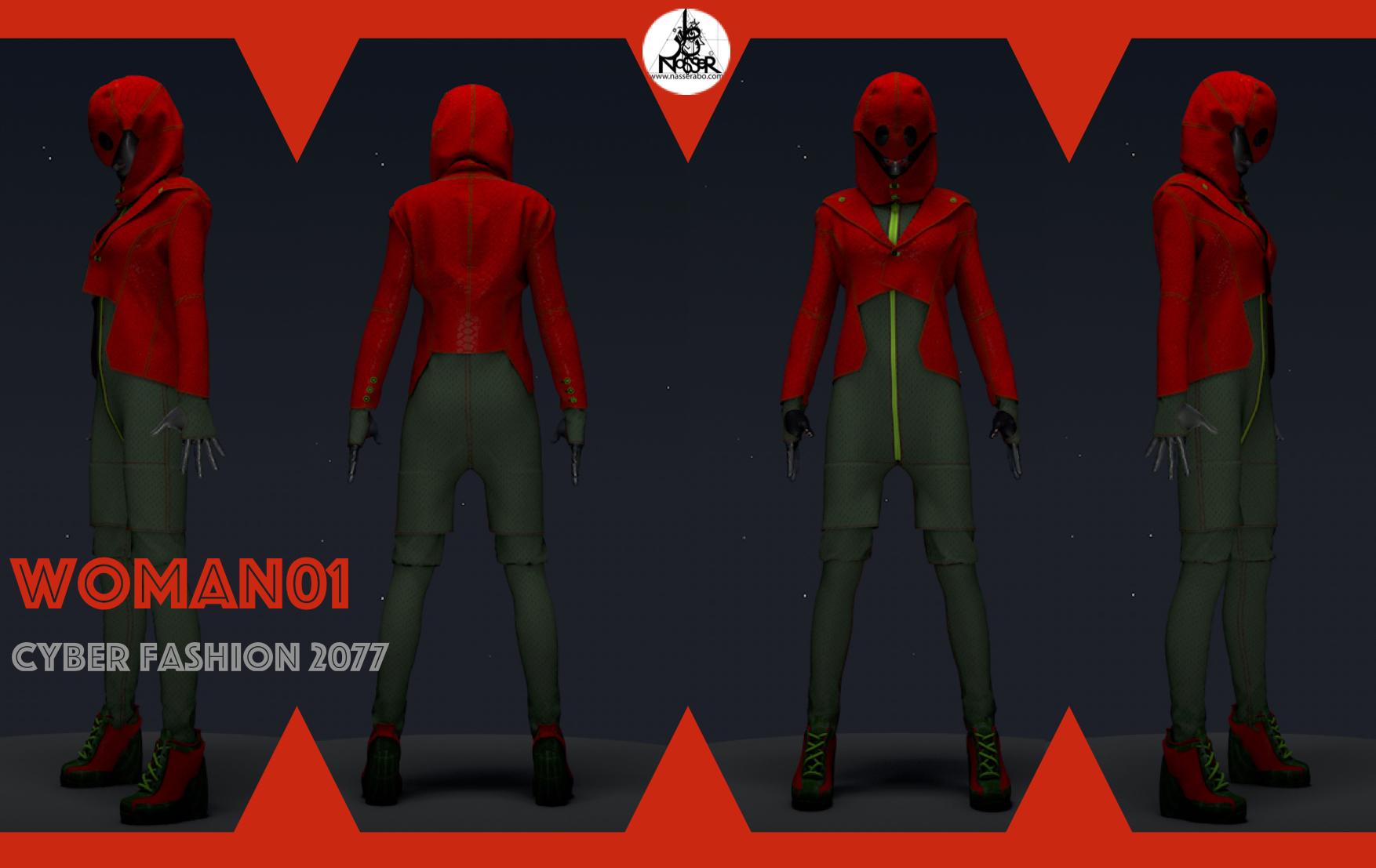 Cyber Fashion 2077